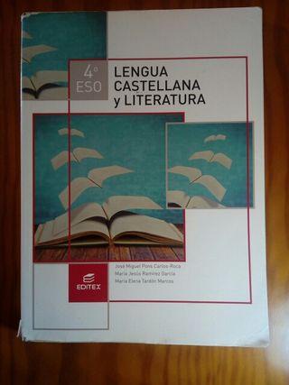 Libro de lengua castellana y literatura 4°ESO