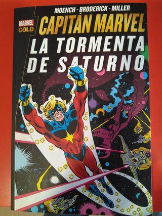 MG Capitán Marvel: La Tormenta de Saturno