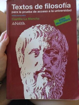 libro de textos de filosofía de anaya