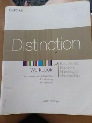 workbook de 1bach marca Oxford