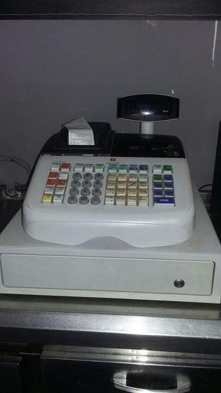 maquina registradora de bar o tienda