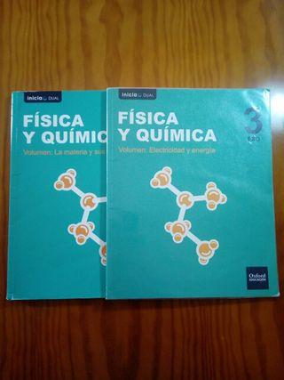 Libros de física y química 3°ESO