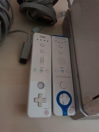 Consola WII con mandos