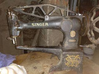 Maquina de coser de zapatero de 1906