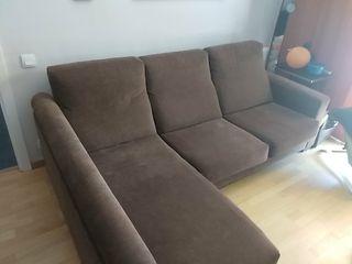 Sofá chaise longue 3 plazas