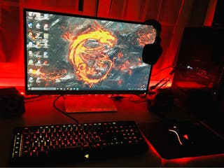 PC-GAMING + MONITOR 4K