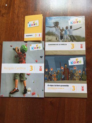 Libro 3 primaria religión proyecto Kairé