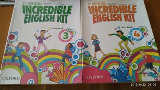 Libros de inglés de 3 y 4