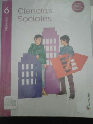 sociales 6º primaria. Santillana