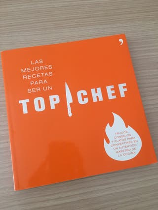Libro TOP CHEF perfecto estado
