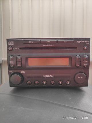 radio CD NISSAN NAVARA