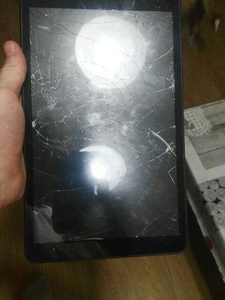 Tablet alcatel con pantalla rota