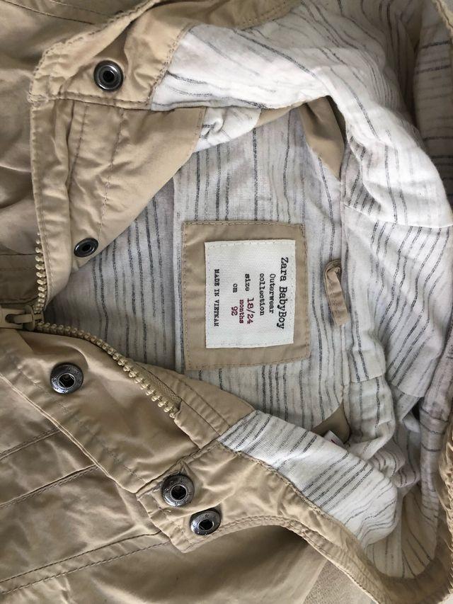 grandes ofertas 2017 marcas reconocidas límpido a la vista Parka de niño Beige.Zara de segunda mano por 15 € en Guadix ...