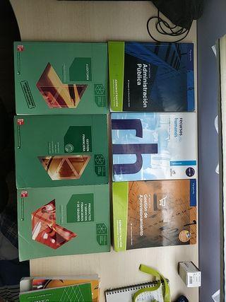 Libros de grado superior administrativo