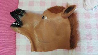 NUEVA Mascara caballo Disfraz