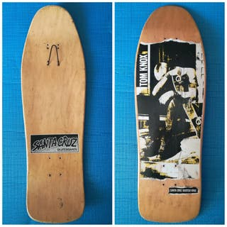Santa Cruz KNOX 1990 Skate Old School Monopatin