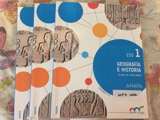 Libro Geografía Historia. 1 ESO