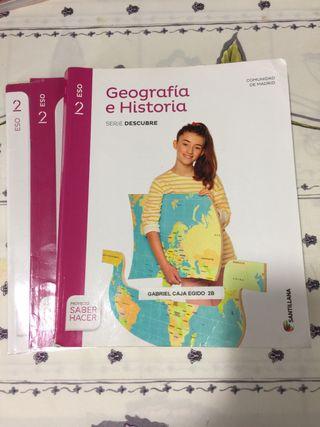 Libro Geografía Historia. 2 ESO