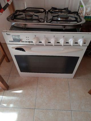 placa y horno