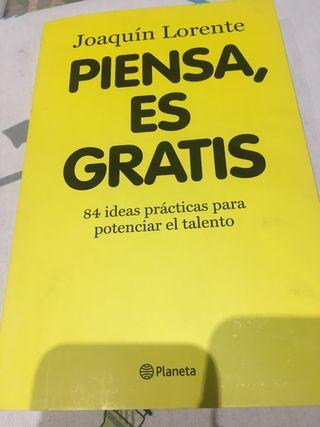 Libro piensa es gratis