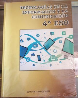 LIBRO TECNOLOGÍA, INFORMÁTICA Y COMUNICACIÓN 4Eso