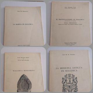 4 libros de ensayo Mallorca