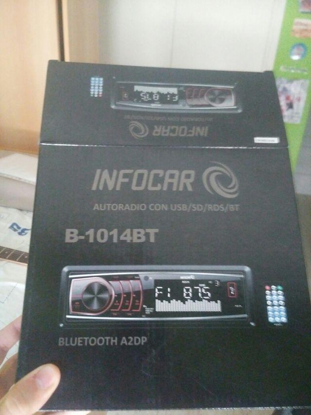 Radio con USB/SD/RDS/BT