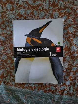 Biología y geología 1°ESO SM Savia