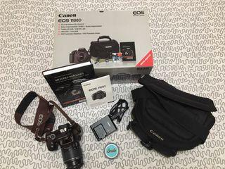 Cámara réflex Canon EOS 1100D