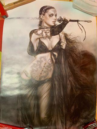 Poster amazona 90x60 perfecto Victoria Frances