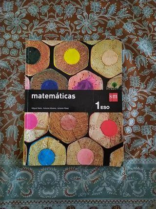 Matemáticas 1°ESO SM Savia