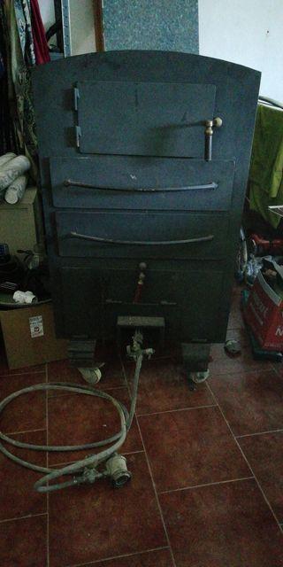 horno de gas para patatas