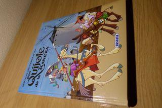 Don Quijote de la Mancha, ilustrado para niños