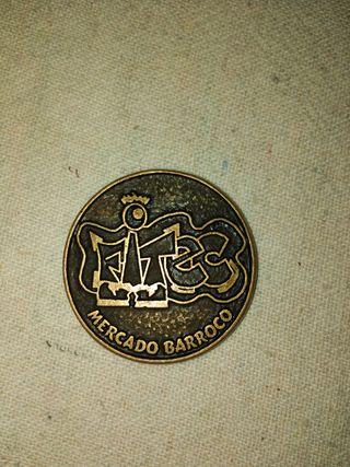 Medalla mercado barroco de la Granja