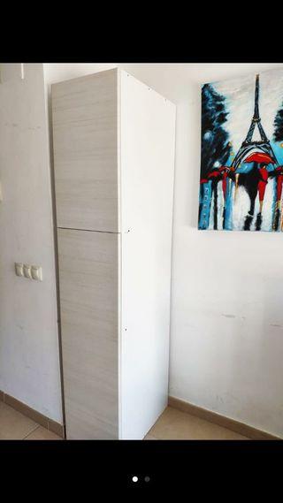 mueble armario blanco