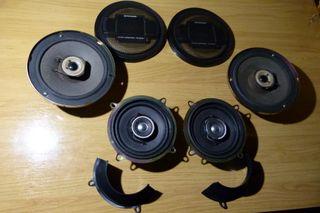 Sistema de altavoces Pioneer para coche