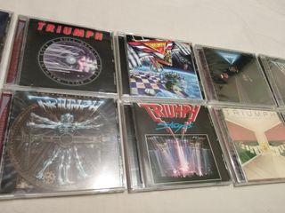 TRIUMPH CD Colección 1975-1988 (Hard-rock AOR)