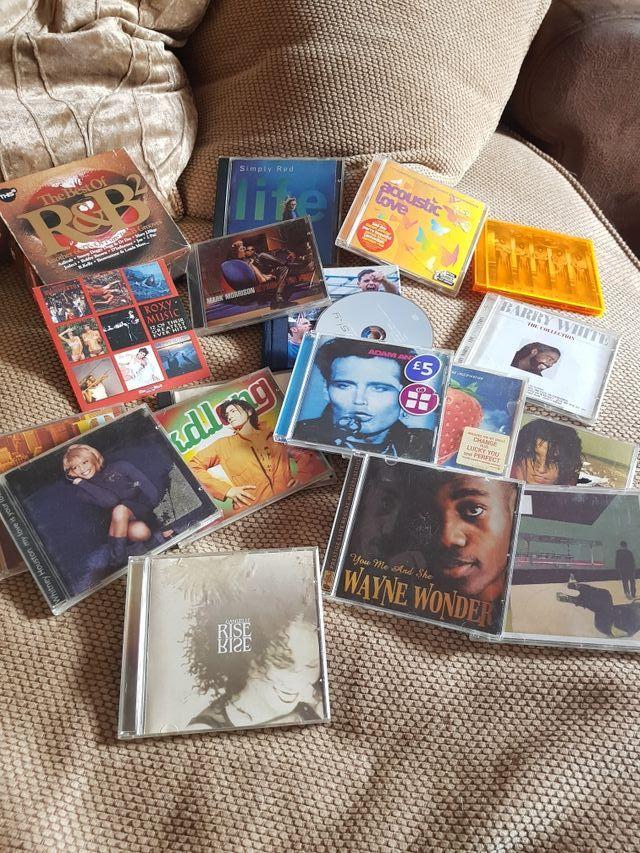 cds books dvds