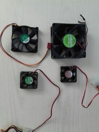 Ventiladores para PC antiguo.