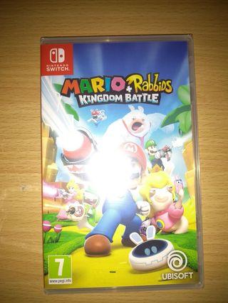 SIN ESTRENAR Mario+Rabbids Kingdom Battle Switch
