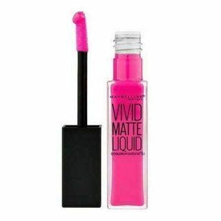 Maybelline Vivid matte liquid 15 electric pink