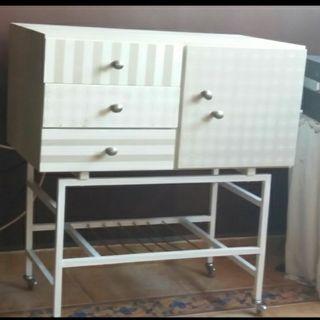antiguo mueble bar restaurado