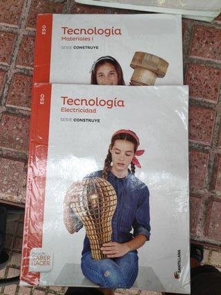 libros 1 ESO tecnología electricidad