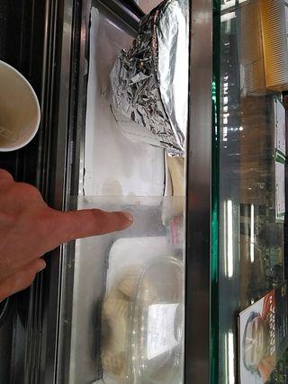 mostrador frigorífico/ nevera expositora