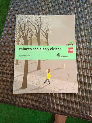 Valores Sociales y Cívicos Sm 4° primaria