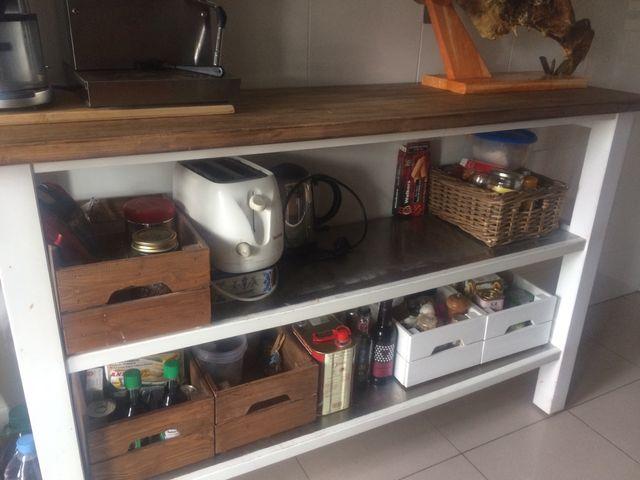 Mueble auxiliar de cocina IKEA de segunda mano por 100 € en A Coruña ...