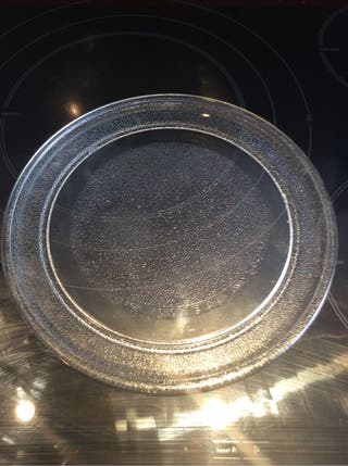 Plato microondas 25 Cmts diámetro
