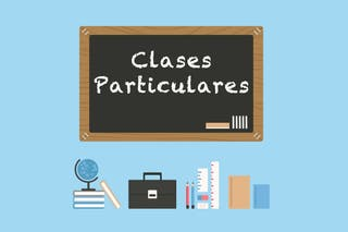 CLASES PARTICULARES REFUERZO O INGLÉS