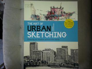 Libro de bellas artes dibujo urbano