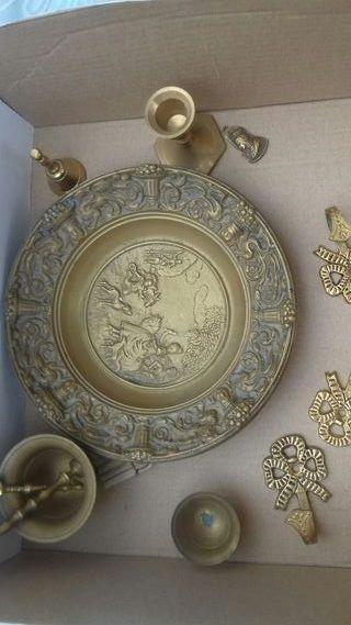 piezas de bronce antiguas